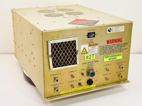 MRC A114265 Quad 1000 RF Deck Sputter Power Supply 3500 VDC Eimac SK-4063-500Z