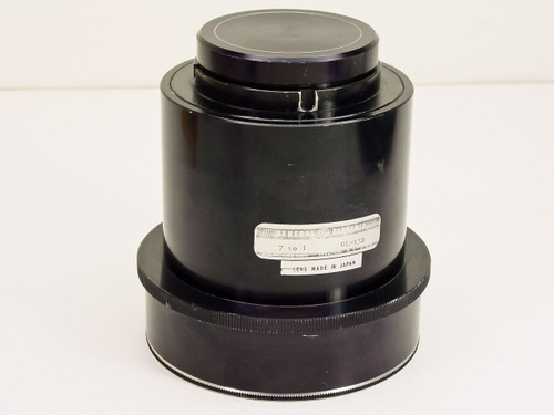 GE GL-132 7-to-1 Projector Lens with Protective Covers - Vintage