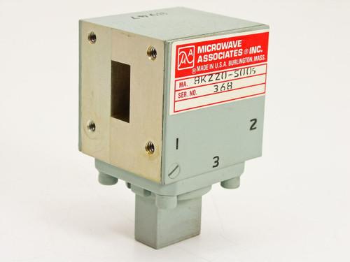 Microwave Associates MA-8K220 WR62 Ku-Band RF Circulator 12.4~18 GHz Magnetic