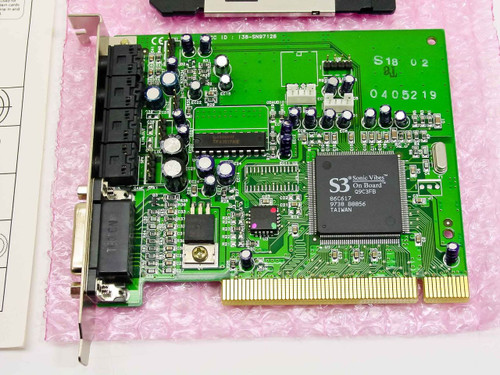 NEWCOM, INC. NEWCLEAR Sound card SC128-3D