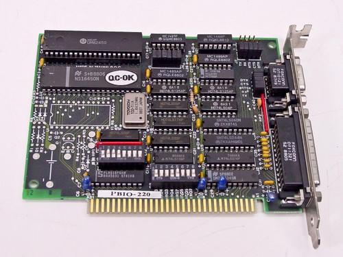 Diamond Flower PBIO-220 8-Bit ISA I/O Card - 9-Pin Serial 25-Pin Parallel