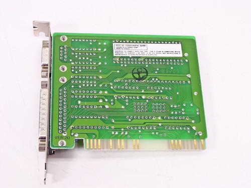 Kouwell KW-509B Serial Card I/O BOARD 8- Bit ISA 9 Pin and 25 Pin Connectors
