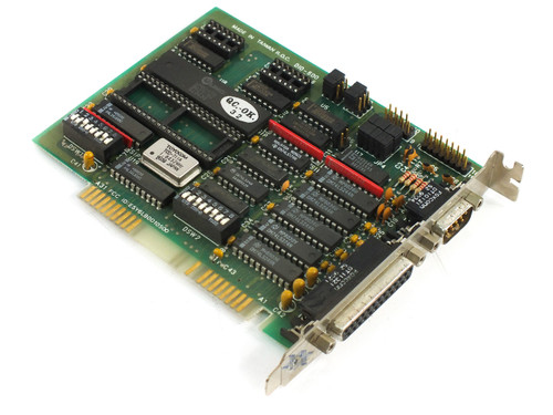 Star Tech D10-500 8-Bit ISA I/O Board with 82450 Chip, Parallel and Serial Ports