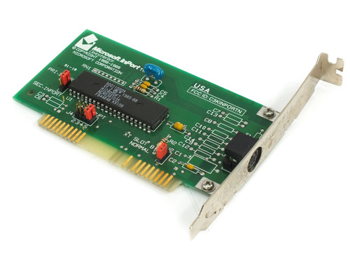 Microsoft 900-255-018 Rev P InPort Device Interface 8-bit ISA BUS Mouse Card