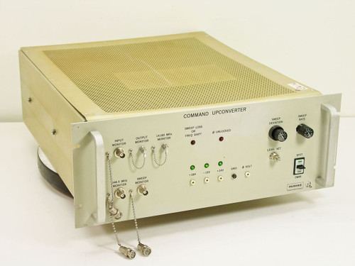 Hughes 3878540-100 4U Ku-Band Satcom Command Upconverter - 14180MHz / 1.418GHz