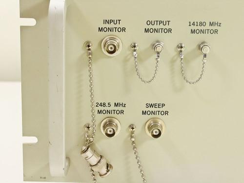 Hughes 3878540-100 14180MHz KU-Band Satcom Command Upconverter 4U (1.418GHz)
