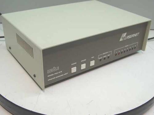 WTI Lasernet Printer Sharing Unit 256k Serial - Parallel PSU-81B