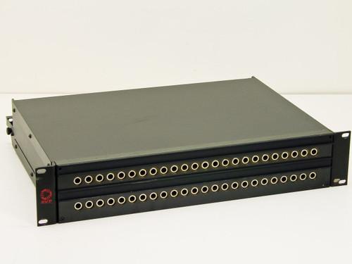 "AVP  24 Dual Port video jack Patchbay 19"" Rackmount 2U 19 x 16 x 4"
