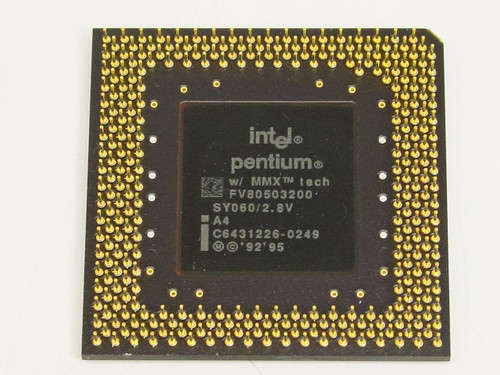 Intel Pentium MMX 200MHz Processor FV80503200
