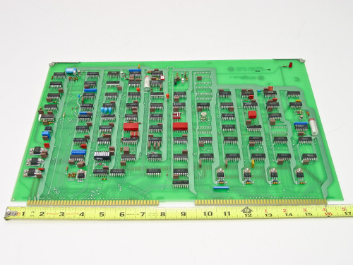 Varian 01000031 Rev H Control Logic Board for HPA Satcom RF Transmitter
