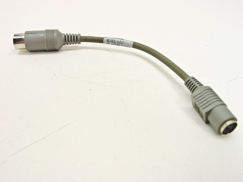 Metrologic 45-45988 Barcode Reader Cable - 5-Pin AT Male to 6-Pin PS/2 Female
