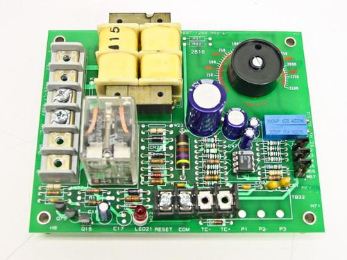 Watlow 140A-1604-6000 Temperature Limit Control Board 0~2500°F -18~1370°C Type K