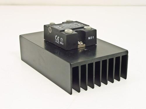 Watlow SSR-240-40A-DC1 40Amp Solid State Relay w/SSR Heasink 120/240VAC 3~32V DC