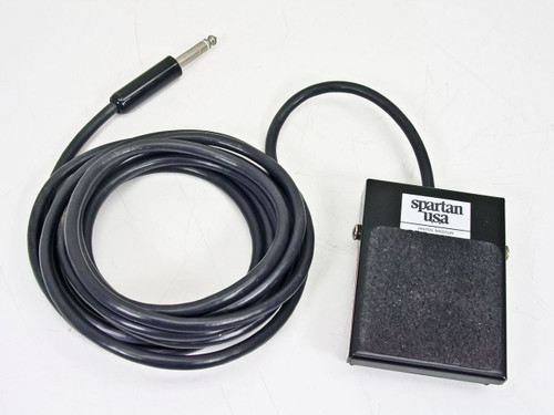 """Spartan 10' Foot Pedal Switch with 1/4"""" TRS Connector"""