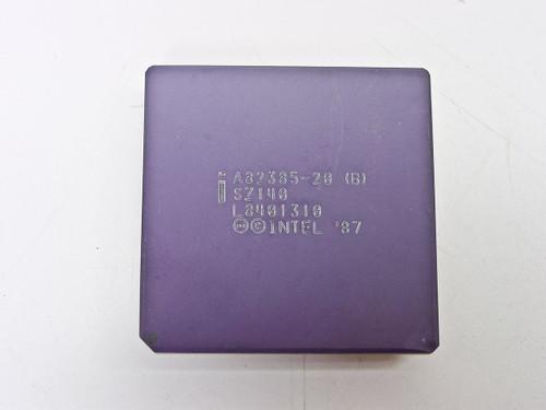 Intel A82385-20 386 CPU Cache Controller (SZ140)