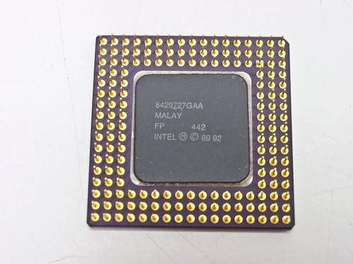 Intel 486SX/33MHz Processor A80486SX-33 SX902