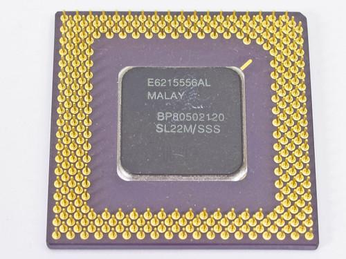 Intel SL22M Pentium 120MHz BP80502120 Socket 7 CPU
