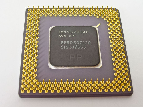 Intel  Pentium 120 MGh BP80502120 SL25J