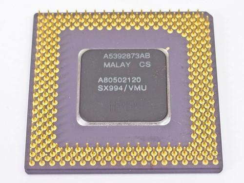 Intel Pentium 120 MHz Ceramic CPU A80502120 (SX994)