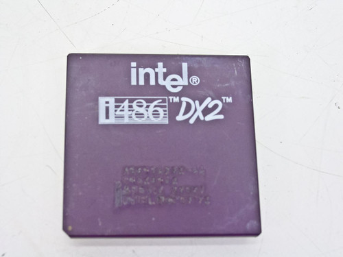 Intel 486DX2/66 Processor A80486DX2-66 (SX807)