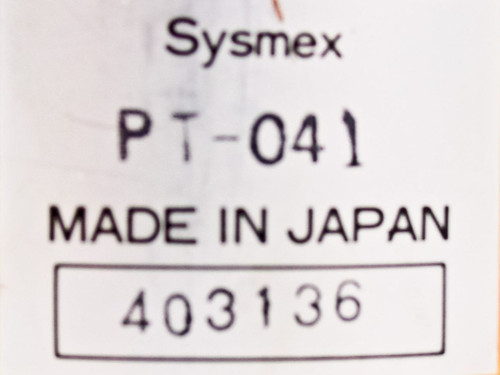 Sysmex PT-041 Transformer