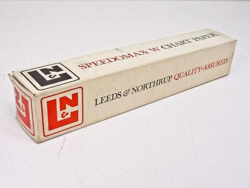 """Leeds & Northrup 491259 Speedomax W Chart Paper - 10.625"""" Wide - New Open Box"""