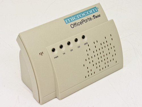 Microcom OfficePorte Voice 33.6 kbps Data/Fax Modem 180603002A