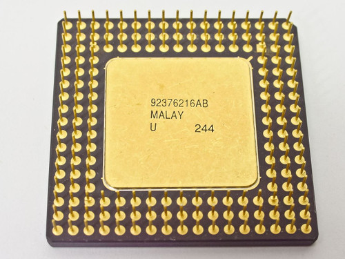 Intel SX419 i486DX 33MHz CPU - A80486DX-33 - Vintage 486 Processor - TESTED