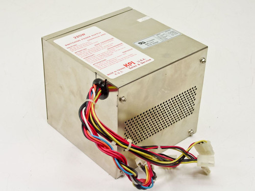 KPI KP25-20SQB 220W AT Switching Power Supply for Desktop Computers - VINTAGE