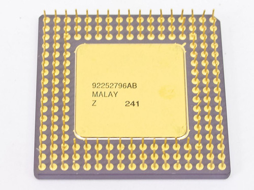 Intel i486/25MHz SX CPU A80486SX-25 SX411