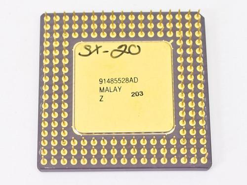 Intel i486/25MHz SX CPU A80486SX-25 SX406
