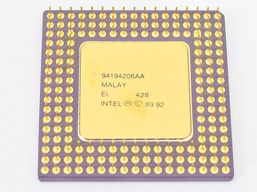 Intel i486/25MHz SX CPU A80486SX-25 (SX798)