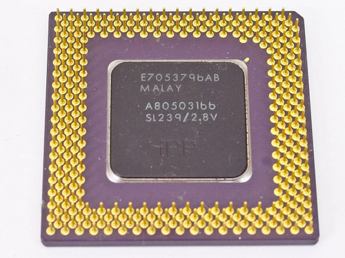 Intel  P1 166Mhz Processor A80503166  SL239