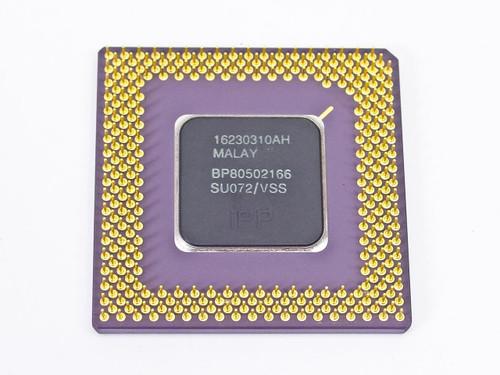Intel P1 166Mhz Processor A80502166 (SU072)