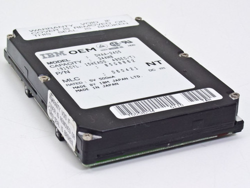 IBM 85G8862 344MB Laptop Hard Drive Model DHAA-2405 - MLC D60421