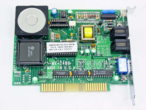 Calpak Modem Card 8 Bit ISA MX-2400