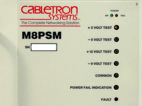 Cabletron M8PSM Power Supply Module