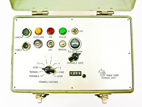 Traid High Speed Film Camera Intervalometer Controller (In Hard Case)