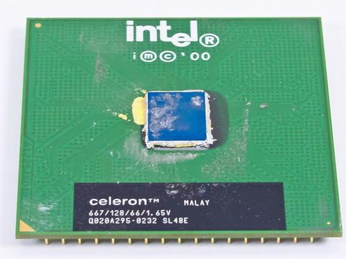 Intel Celeron 667/128/66/1.65V CPU Processor Chip SL48E