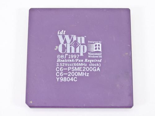 IDT WinChip 200Mhz Processor Chip C6-PSME200GA