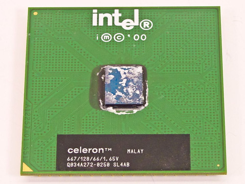 Intel  Celeron 667MHz SOCKET 370 CPU Processor Chip SL4AB