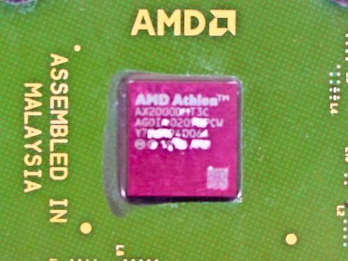 AMD Athlon XP 2000& 1.67GHz 256KB 266MHz Socket (AX2000DMT3C)