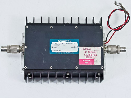 Advantek  Solid State Amplifier RF In and Out 28 Volts AV - 5T