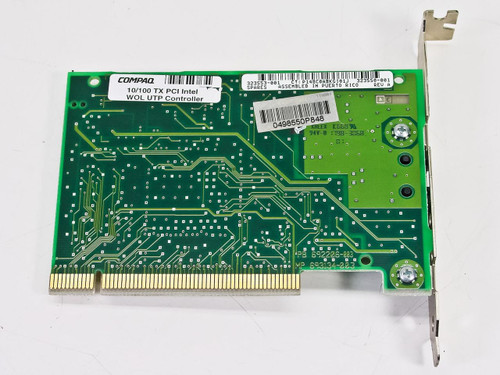 Compaq 10/100 Base-T Intel PCi Network Nc3121 669209-003 (323553-001)