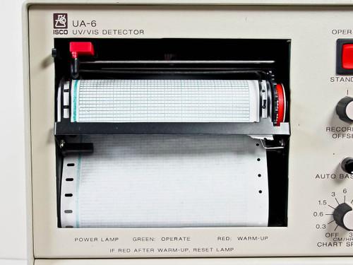 Isco UA-6 UV/VIS Detector 254nm Liquid Chromatography with Combiflash Sg 100c