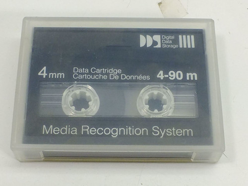 Digital Data Storage 4-90m 4mm Data Cartridge Media Recognition System DDS Tape
