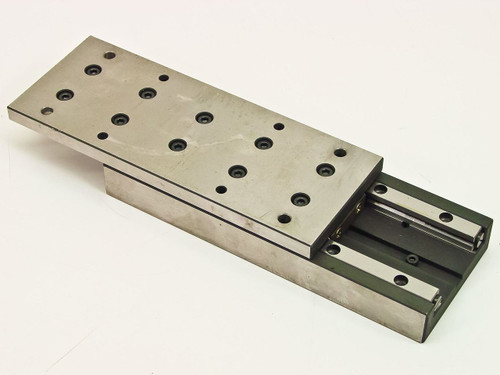 "Generic Micropositioner slide with 5.25"" with range of motion 8.125"" x 3.125"""