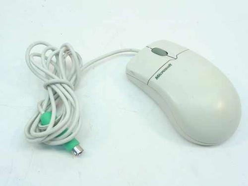 Microsoft X04-72167 Mouse PS/2 Scroll Wheel 63618