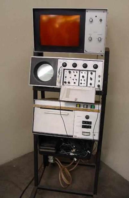 SKI 2022 Ekoline Ultrasonoscope Ultrasound NDT Imager - Vintage - As Is / Parts