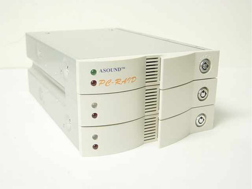 Asound PC-Raid Backup System for the PC Vintage IDE Hard Drives
